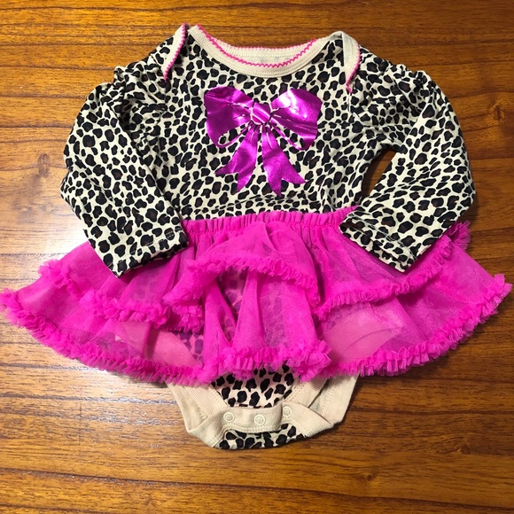 Garanimals Other - Garanimals Animal Print Tutu Onesie
